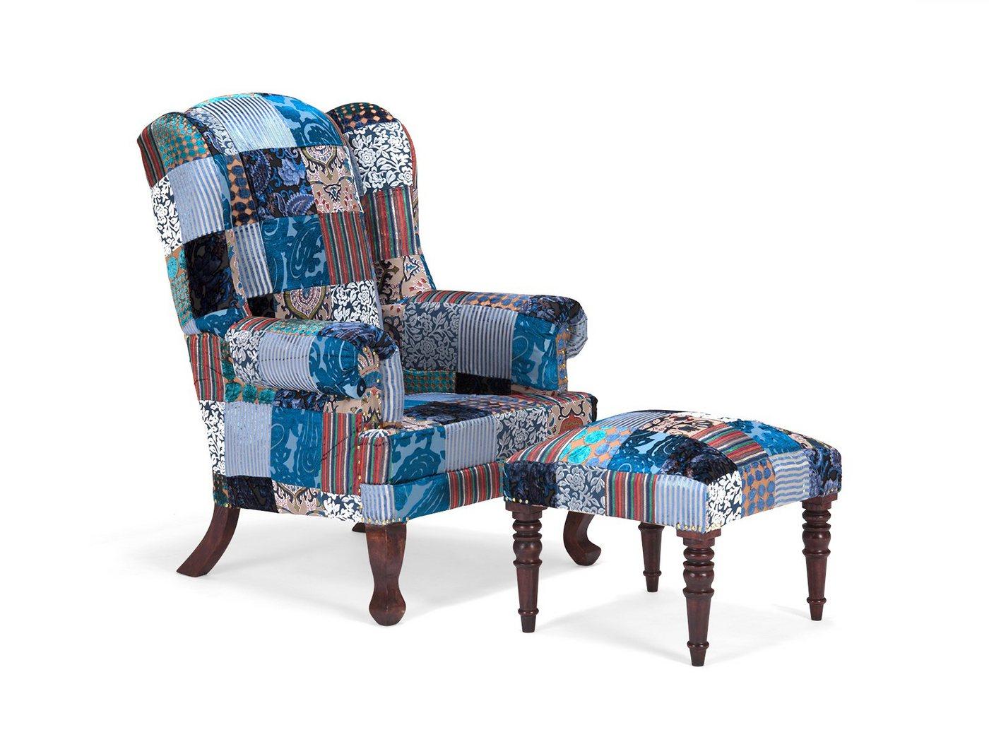 massivum Sessel aus Flachgewebe »Florese«