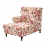 Ohrensessel Cornwall - Webstoff Rose floral, Max Winzer
